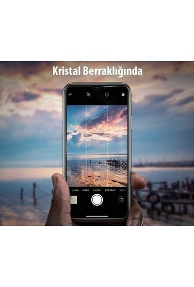 Kralphone Apple iPhone 4/4S Ekran Koruyucu Temperli Cam