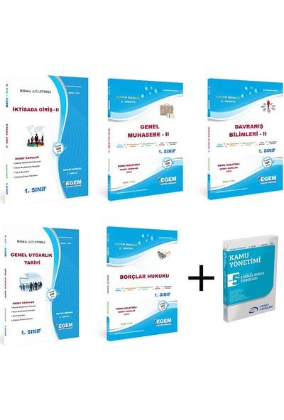 Egem Yayınları Kamu Yönetimi 1. Sınıf 2. Yarıyıl Bahar Dönemi Konu Anlatımlı Soru Ve Cıkmış Soru Set