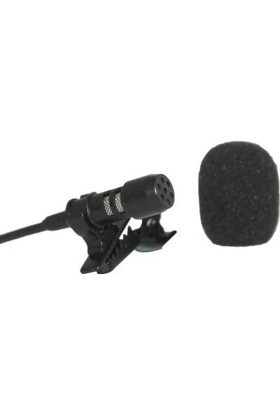 Candc Dc-C6 Cep Telefonu Uyumlu Yaka Mikrofonu