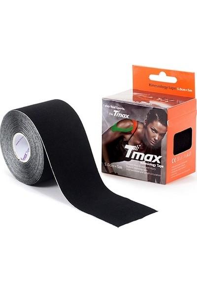 Tmax Tape Siyah Kinesio Ağrı Sporcu Bandı