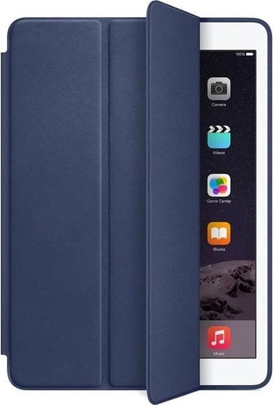 Fujimax ipad Air 3 / ipad Pro 10.5 Uyku Modlu Deri Smart Kılıf (A2152 A2154 A1701 A1704) Lacivert