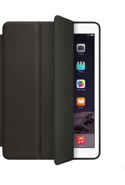 Fujimax ipad Pro 12.9 1./2.Nesil Uyku Modlu Deri Smart Kılıf (A1584 A1652 A1670 A1671) Siyah