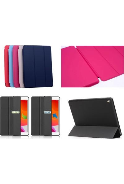 Fujimax ipad Air 3 / ipad Pro 10.5 Uyku Modlu Deri Smart Kılıf + 9H 330 Derece Nano Ekran Koruyucu(A2152 A2154 A1701 A1704) Lacivert