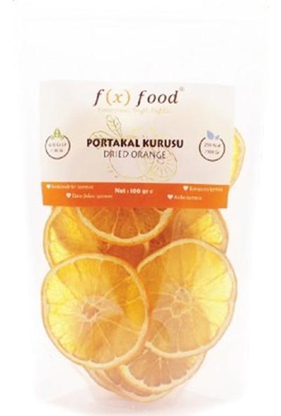 Fx Food Kurutulmuş Portakal 100 gr