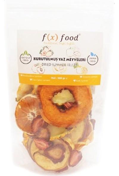 Fx Food Kurutulmuş Yaz Meyveleri 100 gr
