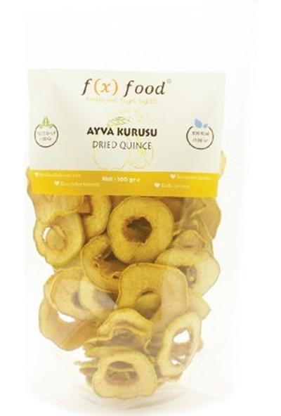 Fx Food Kurutulmuş Ayva 100 gr