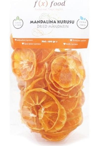 Fx Food Kurutulmuş Mandalina 100 gr