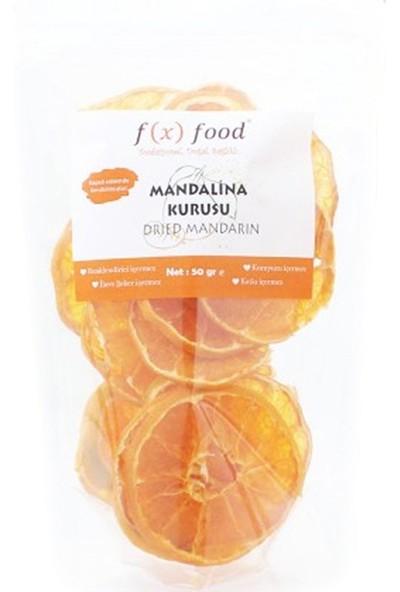 Fx Food Kurutulmuş Mandalina 50 gr