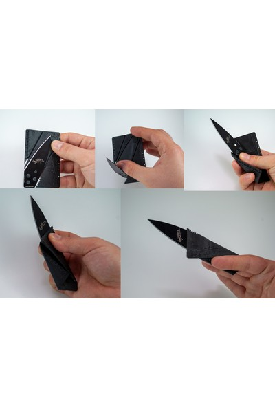 Als Kart Bıçak, Kredi Kartı Bıçak, Cep Çakısı
