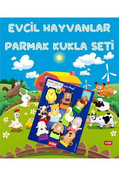 Tox Evcil Hayvanlar 10 Parça Parmak Kukla