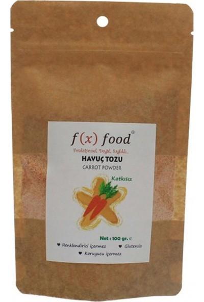 Fx Food Kurutulmuş Havuç Tozu 100 gr