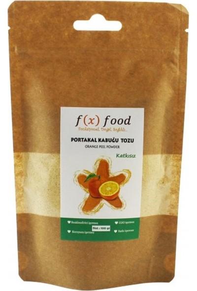 Fx Food Kurutulmuş Portakal Kabuğu Tozu 100 gr