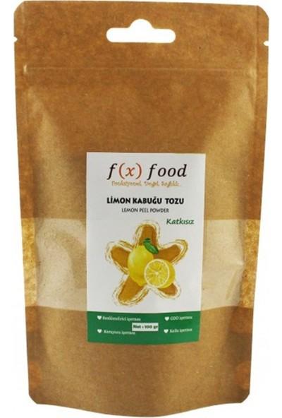 Fx Food Kurutulmuş Limon Kabuğu Tozu 100 gr
