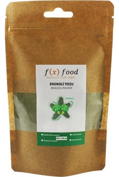 Fx Food Kurutulmuş Brokoli Tozu 100 gr