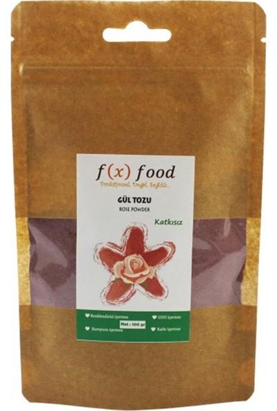 Fx Food Kurutulmuş Gül Tozu 100 gr