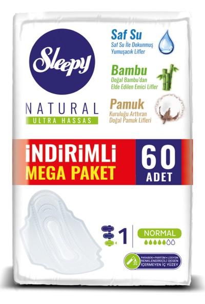 Sleepy Natural Ultra Hassas Normal 60 Ped Mega Paket