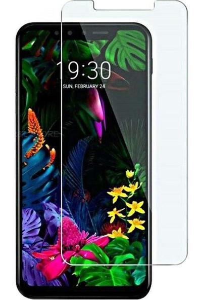 Microcase LG G8S ThinQ Tempered Glass Cam Ekran Koruma Şeffaf