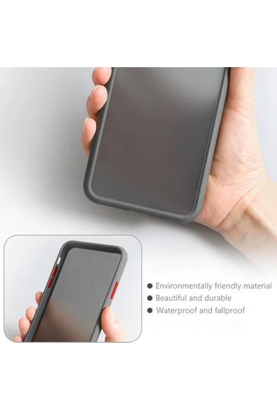 Microcase Xiaomi Redmi K20 - K20 Pro Bumper Tpu Serisi Sert Kılıf Beyaz