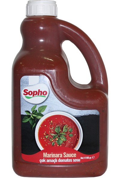 Sopho Marınara Sauce Domates Sos 4100 gr