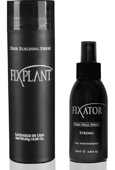 Fixplant 1 Set Saç Tozu + Fixator Sabitleyici Sprey