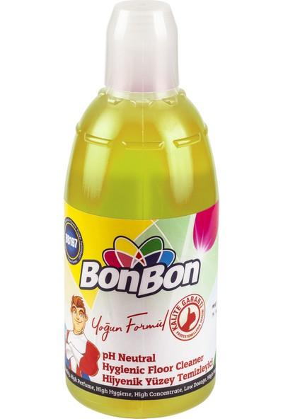 Bonbon Sarı Ph Neutral Hijyenik Sabun Kokulu Yüzey Temizleyici 1000 ml