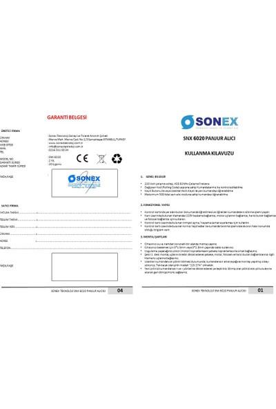 Sonex Snx 6020 - Otomatik Kepenk Panjur Garaj Kartı Alıcısı 220V
