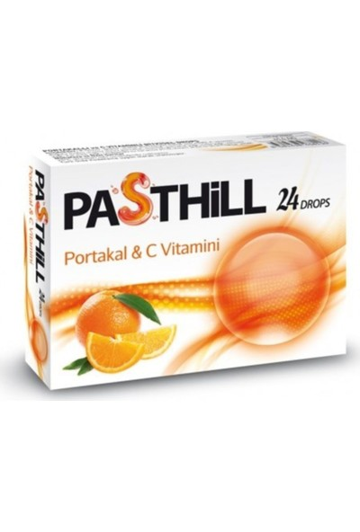 Ledapharma Pasthill Portakal & C Vitamini 24 Drops