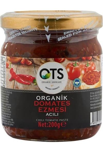 OTS Organik Kuru Domates Ezmesi Acılı 200 gr