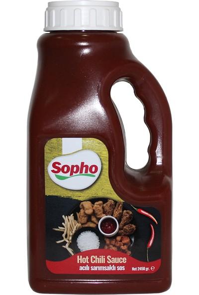 Sopho Hot Chili Sauce 2450 gr Acılı Sarımsaklı Sos