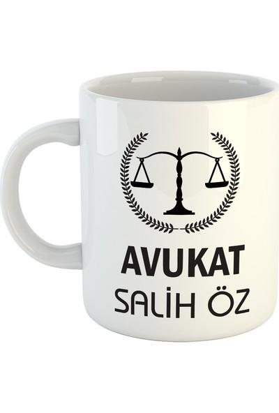 Avukata İsme Özel Kupa Bardak