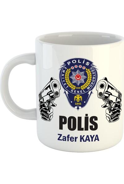 Polise İsme Özel Kupa Bardak