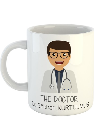 Doktora İsme Özel Kupa Bardak