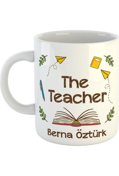 Öğretmene İsme Özel Kupa Bardak