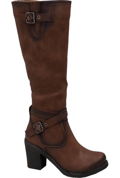 Cudo 2501 Fermuarlı Kadın Çizme