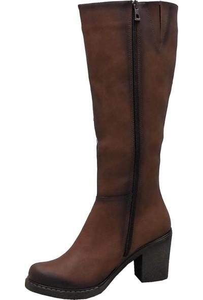 Cudo 2505 Fermuarlı Kadın Çizme