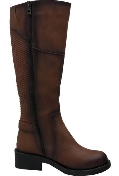 Cudo 2701 Fermuarlı Kadın Çizme