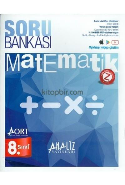 Analiz Yayınları 8. Sınıf Matematik Soru Bankası Aort