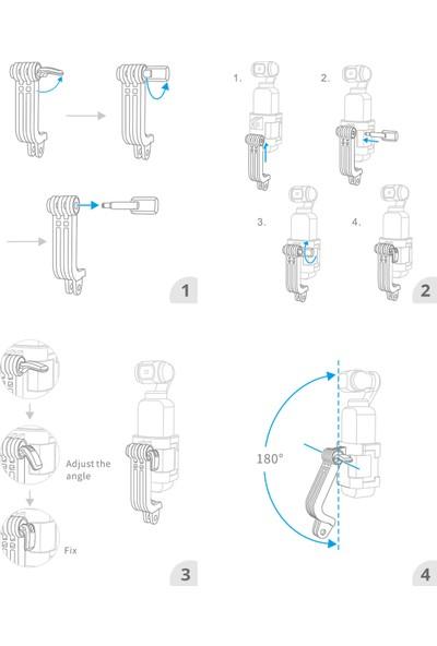 Pgytech Djı Osmo Pocket Action Camera L Bracket