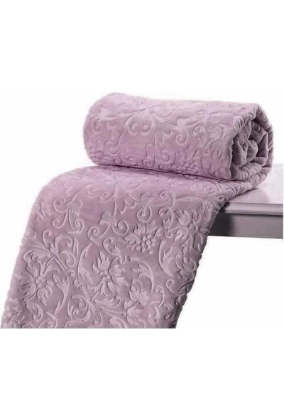 Özdilek Battaniye 220 x 240 cm Trendy Kül Moru