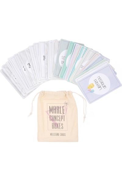 Marle Concept Boxes Marle Milestone Cards - Hamilelik Anı Fotoğraf Kartları
