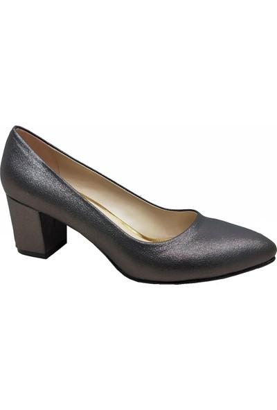 Gizem 266 Simli Stiletto Kadın Ayakkabı