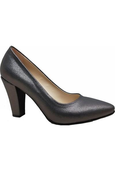 Gizem 366 Simli Stiletto Kadın Ayakkabı
