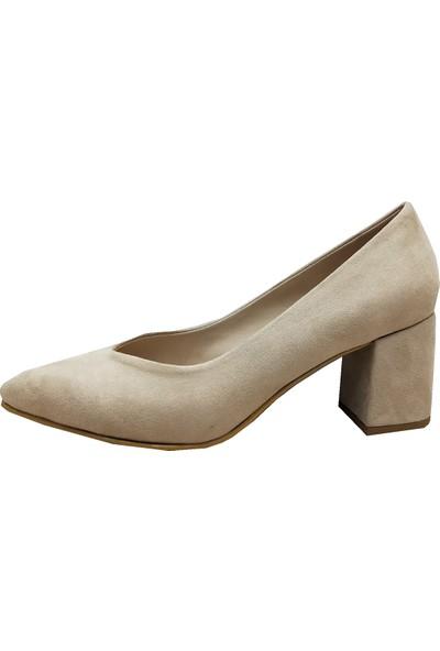 Gizem 710 Deri Çaça Kadın Ayakkabı