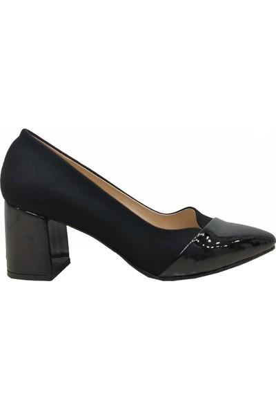 Gizem 750 Süet Çaça Topuklu Kadın Ayakkabı
