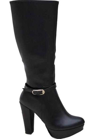 Jtn Club Platform Topuklu Kadın Çizme