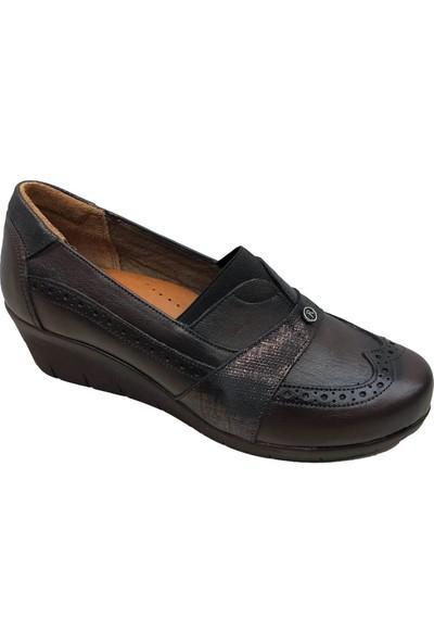 Scavia 769 Deri Kadın Ayakkabı