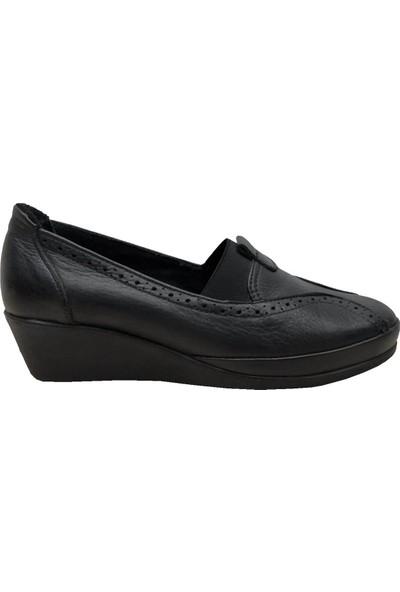 Scavia 888 Deri Kadın Ayakkabı