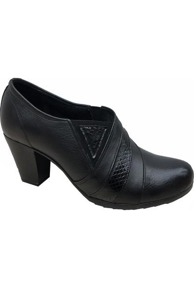Scavia 897 Deri Kadın Ayakkabı Maxsens Ayakkabı