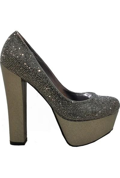 Smilee 5113 Platform Topuklu Kadın Ayakkabı