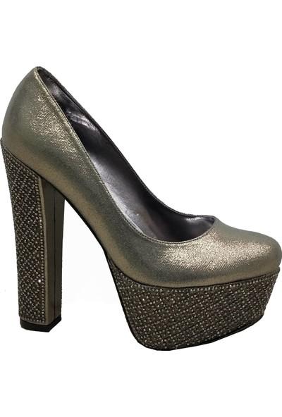 Smilee 5227 Platform Topuklu Kadın Ayakkabı